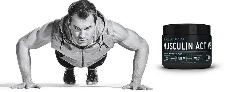 Combien de temps faut-il pour voir l'impression Musculin Active? Y a-t-il des effets secondaires?